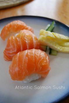 Atlantic Salmon Sushi