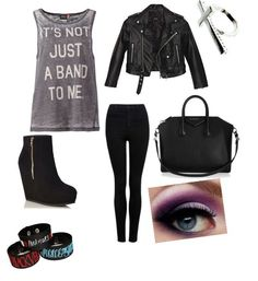 Emo summer -- bands outfit