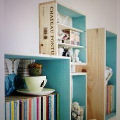 Caixas de vimho viram estantes ! #instadecor #interiores #interiordesign #decor #decorame #decoraçãodeinteriores #homedesigning # #Padgram