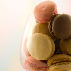 Chocolate Hazelnut Macarons #Recipe - Delish.com. I've never made #macarons, but I really want to try!
