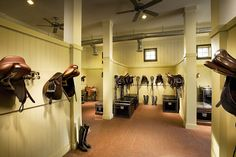 my kind of tack room ; ) again it needs western tack to be a good tack room