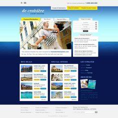 Free Website Templates, page 3 Free Html Website Templates, Html Templates, Travel Website Design, Cruise Vacation, Tourism, Web Design, Blog, Bon Voyage, Turismo