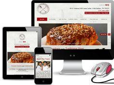 Crossroads Diner New Dallas Web Design Client