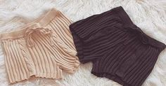 Trendy Lounge wear  Cable Knit Short