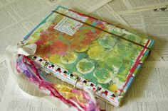Junk Journal for Art Journaling by EphemerasGarden on Etsy
