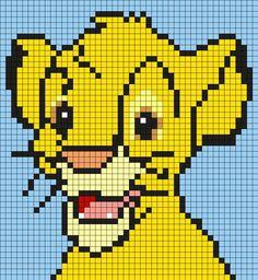 Kandi Patterns for Kandi Cuffs - Characters Pony Bead Patterns Disney Cross Stitch Patterns, Pony Bead Patterns, Kandi Patterns, Alpha Patterns, Perler Patterns, Canvas Patterns, Cross Stitch Designs, Beading Patterns, Perler Bead Disney