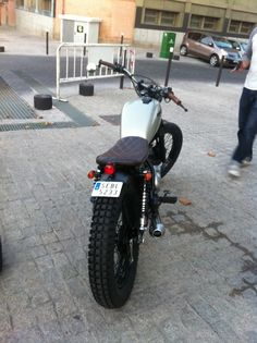 ♠Milchapitas-Kustom Bikes♠: Yamaha SR125 By Cafe Racer Obsession