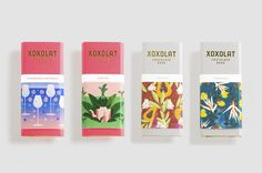 The Dieline Awards 2016 Outstanding Achievements: Xoxolat - Chocolate Bar Packaging — The Dieline - Branding & Packaging