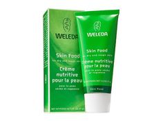 Weleda Skin Food Though this thick salve is meant to tend to dry patches of skin (which it does exceptionally well, by the way), it can also be used as a mask, a spot treatment for inflamed pimples and even a highlighter. Weleda ($19)