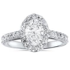 Item #  ENG8600.4.5  Width:  2 mm  Metal:  14k White Gold  Diamond Cut:  Round, Brilliant  Diamond Color:  G/H  Diamond Clarity:  SI2  Diamond Carat: