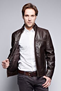 Most Popular Leather Jackets - JacketIn
