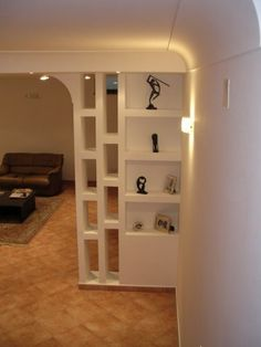 Beautiful room dividers for small space Living Room Partition Design, Living Room Divider, Room Partition Designs, Partition Walls, Partition Ideas, Room Divider Shelves, Room Divider Walls, Cheap Room Dividers, Plafond Design