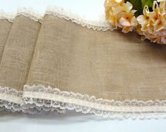 This elegant country wedding table runner is made of natural burlap and decorated with a festive dark purple sequin ribbon, has serged edges, to prevent burlap from unraveling and the sequin ribbon is sewn in the center.  The runner is 12  wide and can be customizable in size.  Thank you for taking in consideration my work!!! :)  Want to see more table runners in my shop?  Please visit : https://www.etsy.com/shop/HotCocoaDesign