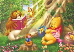 D-300-294 Tenyo Disney Winnie the Pooh Piglet Tiger Jigsaw Puzzles