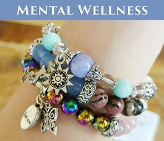 MENTAL WELLNESS Set of 3 at a discount  by Lovebeyondthemoon