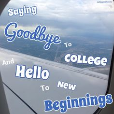 Saying Goodbye to College and Hello to New Beginnings  How do you really say goodbye to the college that has been your home for three and a half years? To the friends who've made everyday - even the awful ones - feel like Christmas? To the teachers who've transformed into mentors role models and even peers?  Honestly I don't really know - but today is officially the end of this celiac's undergrad career. And as excited as I am to fly home to Colorado tomorrow afternoon I can't help but cry…