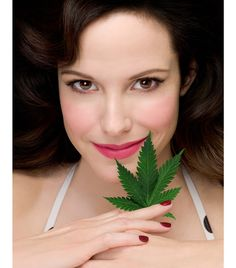 Mary Louise Parker as Nancy Botwin in Weeds. If you've never seen this show and you have Netflix you need to sit your bootay down and watch. All eight seasons are up there now :)