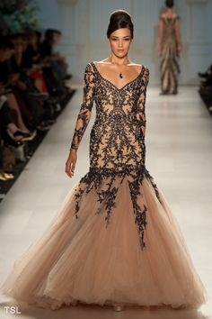 Fashion Studio: PAVONI SPRING/SUMMER 2013    Imagine it in white lace....sooo amazing!