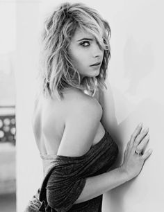 "prettymysticfalls: Ashley Benson for ""Portraits Nudes Flowers""..."