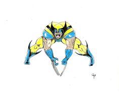 Wolverine con color!!!