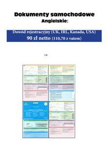 dokumenty samochodowe angielskie - Kopia - Kopia