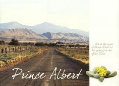 Prince Albert in the Central Karoo  Western Cape South Africa