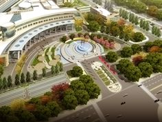 entrance plaza design - Google Search
