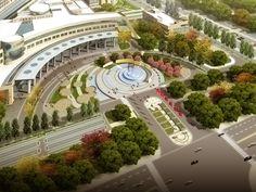 entrance plaza design - Google Search