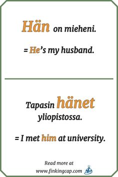 For beginners: an introduction to the Finnish personal pronouns — Finking Cap Finnish Language, German Language Learning, Language Study, Japanese Language, French Lessons, Spanish Lessons, Teaching French, Teaching Spanish, English Study