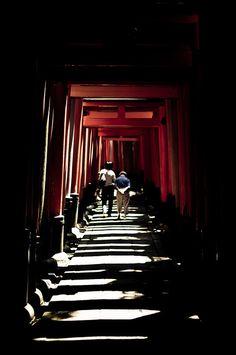 Fushimi Inari, Kyoto, Japan |Shared by Sparano + Mooney Architecture|