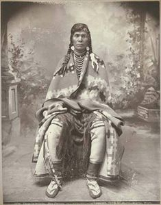 Nez Perce man known as Tipya-la-lwilpilp, Washington, 1899 :: American Indians of the Pacific Northwest