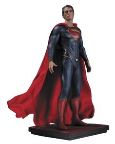 DC Collectibles Man of Steel Superman Iconic Statue Scale 16 ** Find out more about the great product at the image link.
