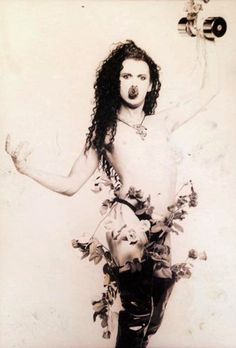 Pete Burns / Dead Or Alive Nude - rejected cover