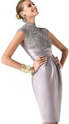 Coctail dress from Pronovias 2014 - Elegant grey...forever