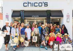 Chicos in Santa Monica, LA & the Fierce 50 Women