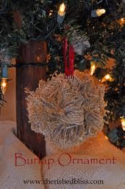 Image result for easy burlap ideas to make for christmas
