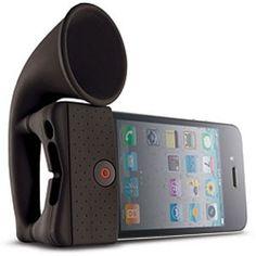 HORN STAND VOOR DE IPHONE 4 EN 3