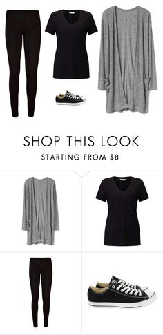 """Untitled #70"" by ejeffrey3 on Polyvore featuring Miss Selfridge, WearAll and Converse"