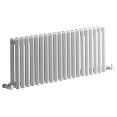 Milano - White Horizontal Designer Radiator 300mm x 760mm - White Designer Radiators - Designer Radiators - Radiators