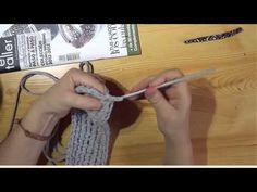 ▶ Mochila de trapillo a crochet -petición de Antonia Figueroa - YouTube