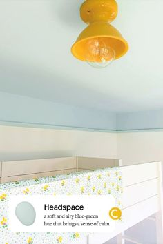 Headspace is a soft, blue-green paint color that brings a calm, airy feeling to any room. This popular shade of blue is a best-seller and universal favorite! Best Blue Paint Colors, Most Popular Paint Colors, Blue Green Paints, Girls Room Paint, Bedroom Paint Colors, Raw Wood Furniture, Custom Furniture, Picture Rail Molding, Colored Ceiling