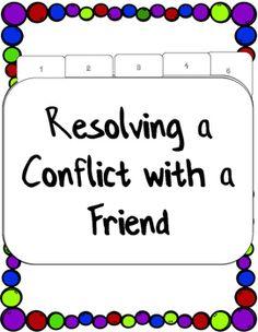 Conflict Resolution Classroom Guidance Lesson... by Counselor Keri | Teachers Pay Teachers (scheduled via http://www.tailwindapp.com?utm_source=pinterest&utm_medium=twpin&utm_content=post58201346&utm_campaign=scheduler_attribution)