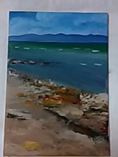 Rocky shores. Rocky Shore, Waves, Painting, Outdoor, Art, Outdoors, Art Background, Painting Art, Kunst