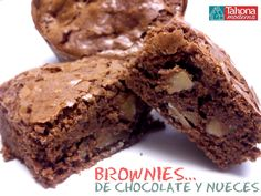 Brownie de chocolate y nueces.. ¡¡Simplemente delicioso!!  #brownie #tahona #delicioso