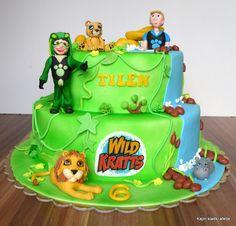 10 Best Wild Kratts Cake Images