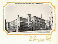 John Oakey & Sons Ltd., Wellington Mills, Westminster Bridge Road, Lambeth