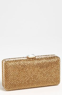 Sondra Roberts Crystal Mesh Box Clutch available at #Nordstrom