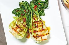 Asian Grilled Bok Choy