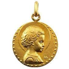 arthus bertrand medaille bapteme Médaille Jésus Enfant