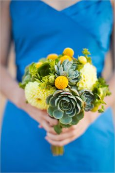 Succulent Wedding Bouquet CreditsFlowers: Lori McNeillPhotographers: Sonya YruelCreditsClick view post to find your bouquet recipe!View PostBouquet Recipe
